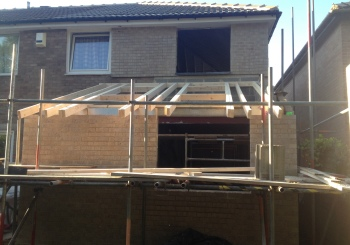 Two Storey extension, Sutton-in-Craven